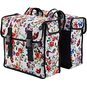 Basil Mara XL Bike Pannier 35L white/colourful